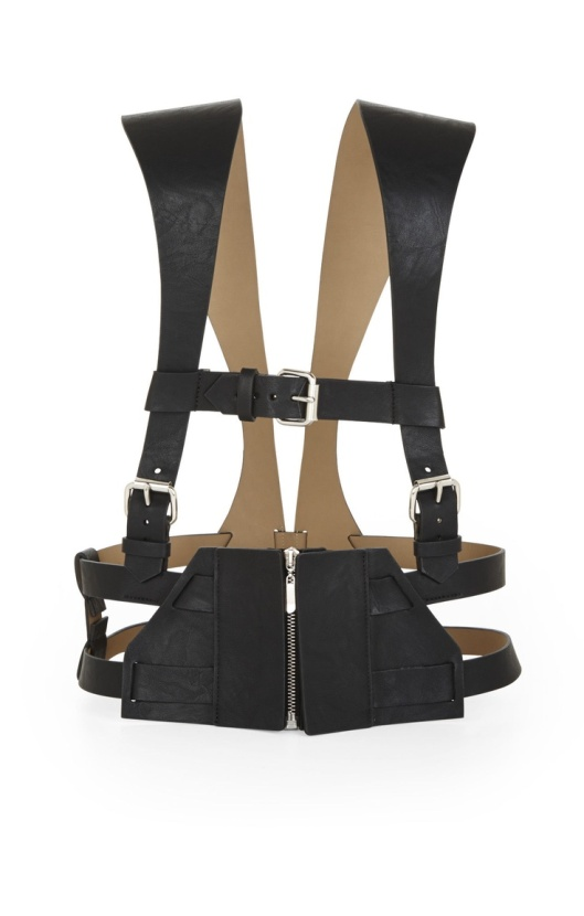 BCBG Leather Harness