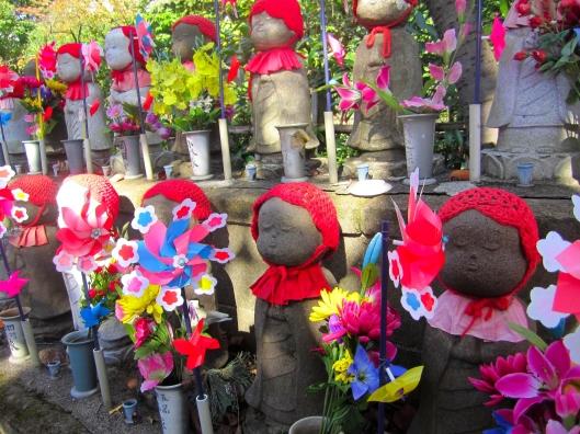 Zojoji Temple - Jizo Statues
