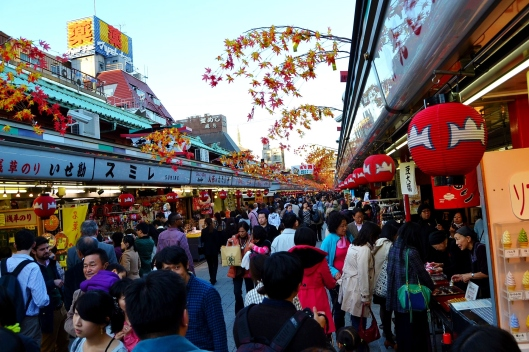 Senso-Ji Temple Market